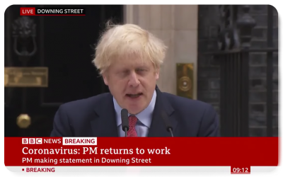 Boris Johnson is back in Downing Street