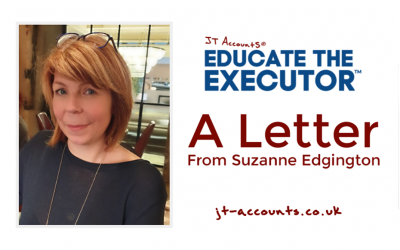 A Letter From Suzanne Edgington