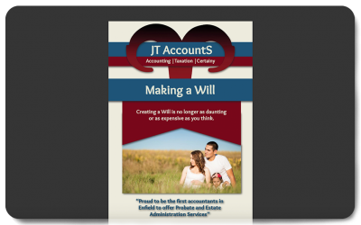 JT AccountS® Making A Will Brochure