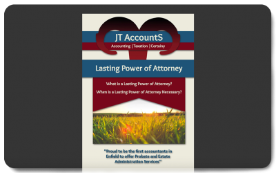 JT AccountS® Lasting Power of Attorney Booklet