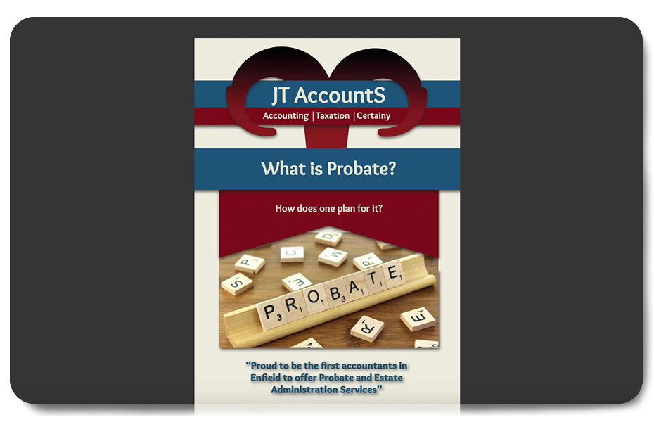 JT AccountS® Probate Booklet
